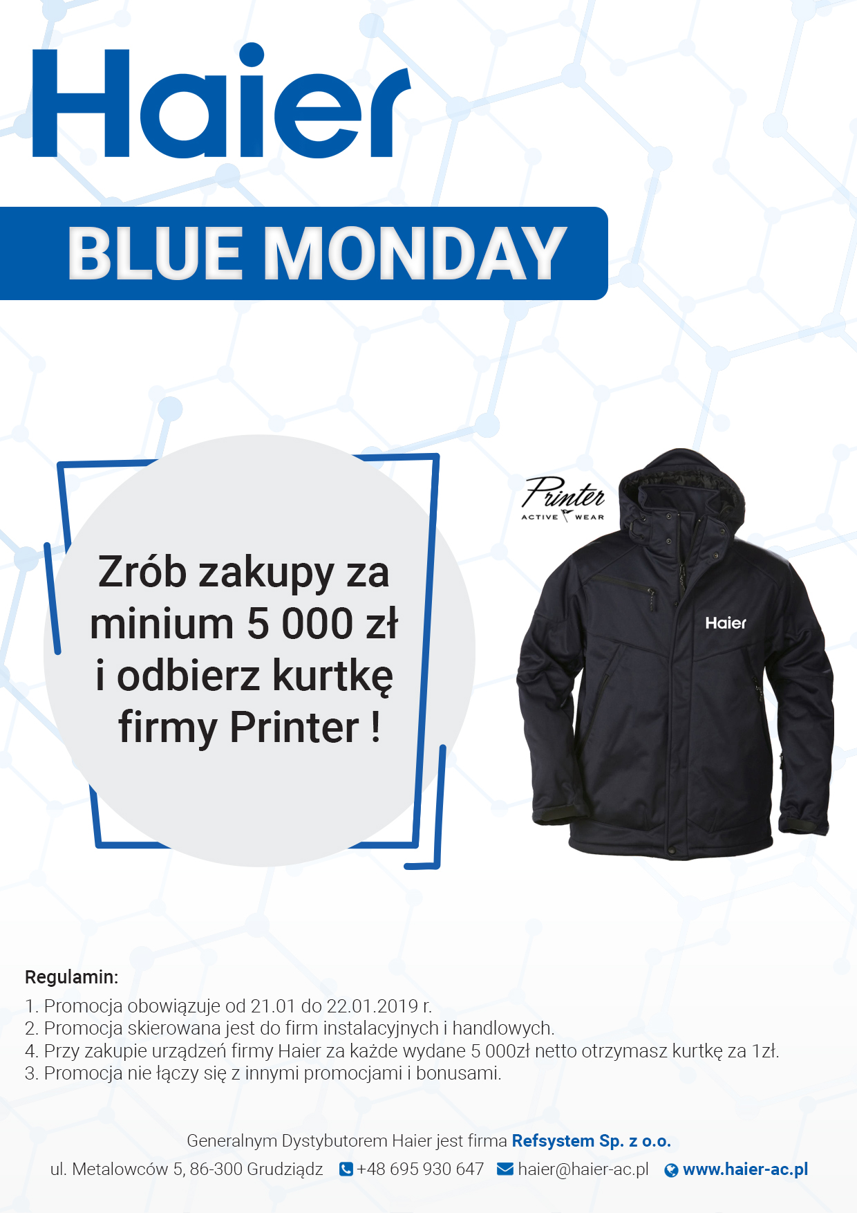 HAIER Blue Monday