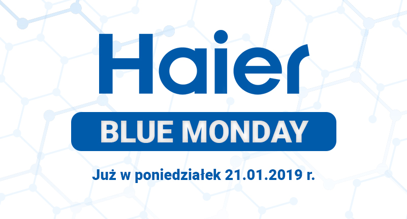 Haier BlueMonday Grafika