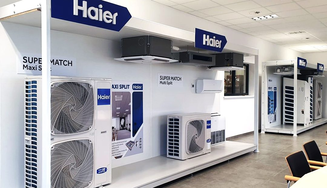 SHOWROOM HAIER W POZNANIU!